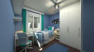 Cómo decorar una habitación juvenil, un espacio especial